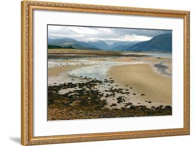 Glencoe from across Loch Linnhe, Highland, Scotland-Peter Thompson-Framed Photographic Print