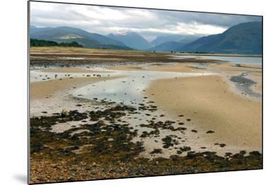 Glencoe from across Loch Linnhe, Highland, Scotland-Peter Thompson-Mounted Photographic Print