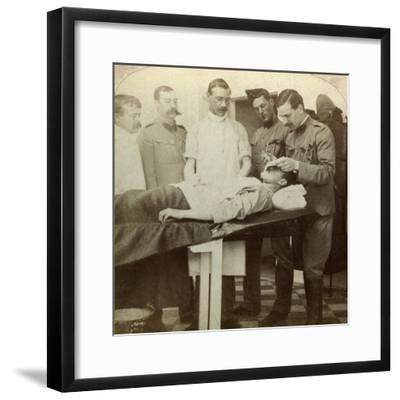 Soldier Who Fell at the Front, Wynberg Hospital, Cape Town, South Africa, Boer War, 1899-1902-Underwood & Underwood-Framed Photographic Print