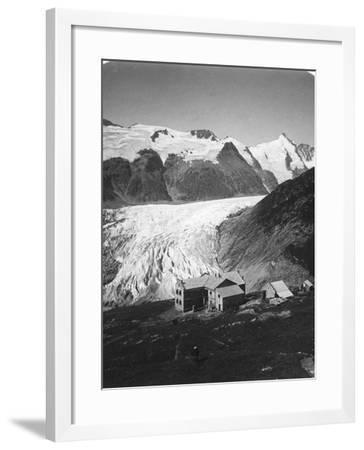Glocknerhaus, Grossglockner, Austria, C1900s-Wurthle & Sons-Framed Photographic Print