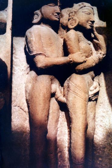 Erotic Sculpture, Hindu Temple, Khajuraho, India, 950-1050--Photographic Print
