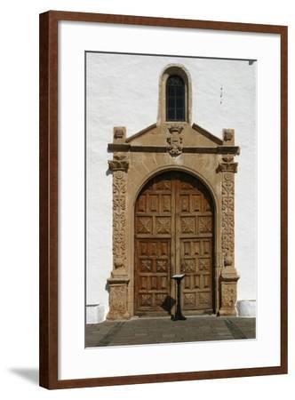 Church, Betancuria, Fuerteventura, Canary Islands-Peter Thompson-Framed Photographic Print