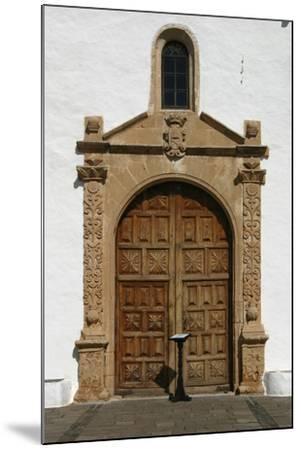 Church, Betancuria, Fuerteventura, Canary Islands-Peter Thompson-Mounted Photographic Print