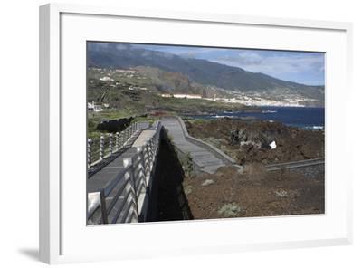 Santa Cruz De La Palma from Los Cancajos, La Palma, Canary Islands, Spain, 2009-Peter Thompson-Framed Photographic Print
