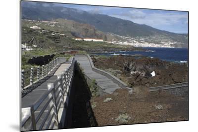 Santa Cruz De La Palma from Los Cancajos, La Palma, Canary Islands, Spain, 2009-Peter Thompson-Mounted Photographic Print
