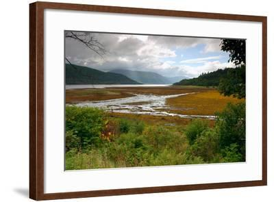 Loch Sunart from Strontian, Highland, Scotland-Peter Thompson-Framed Photographic Print