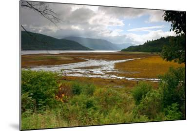 Loch Sunart from Strontian, Highland, Scotland-Peter Thompson-Mounted Photographic Print