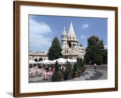 Fishermens Bastion, Budapest, Hungary-Peter Thompson-Framed Photographic Print