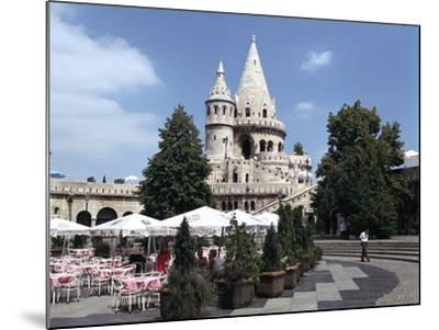 Fishermens Bastion, Budapest, Hungary-Peter Thompson-Mounted Photographic Print