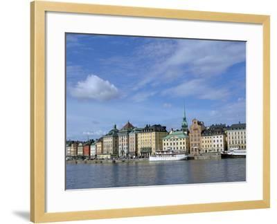 Gamla Stan, Stockholm, Sweden-Peter Thompson-Framed Photographic Print