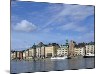 Gamla Stan, Stockholm, Sweden-Peter Thompson-Mounted Photographic Print