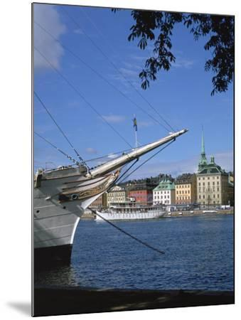 Af Chapman Sailing Ship (Youth Hostel), Stockholm, Sweden-Peter Thompson-Mounted Photographic Print