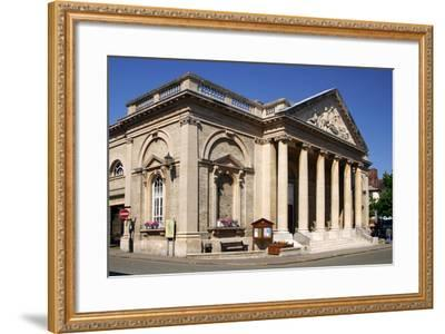 Corn Exchange Building, Bury St Edmunds, England-Peter Thompson-Framed Photographic Print