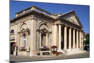 Corn Exchange Building, Bury St Edmunds, England-Peter Thompson-Mounted Photographic Print