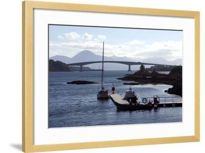 Skye Bridge, Highland, Scotland-Peter Thompson-Framed Photographic Print