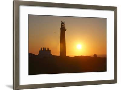 Lighthouse, Butt of Lewis, Lewis, Outer Hebrides, Scotland, 2009-Peter Thompson-Framed Photographic Print