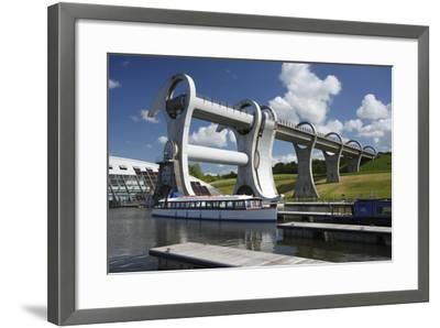 Falkirk Wheel, Stirlingshire, Scotland, 2009-Peter Thompson-Framed Photographic Print