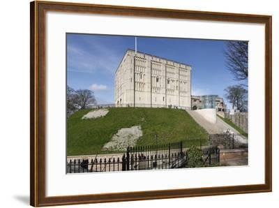 Norwich Castle, Norfolk, 2010-Peter Thompson-Framed Photographic Print