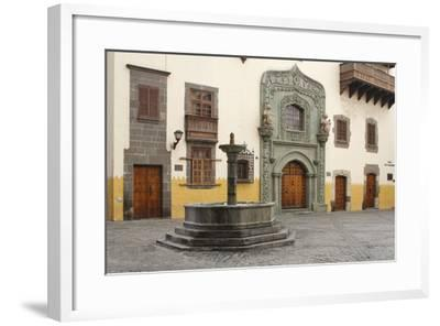 Casa De Colon, Las Palmas, Gran Canaria, Canary Islands, Spain-Peter Thompson-Framed Photographic Print