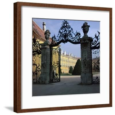 Esterhazy Palace at Fertod-CM Dixon-Framed Photographic Print