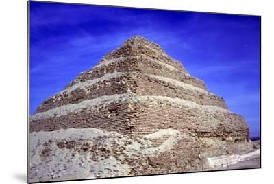 Step Pyramid of King Djoser (Zozer), Saqqara, Egypt, 3rd Dynasty, C2600 Bc- Imhotep-Mounted Photographic Print