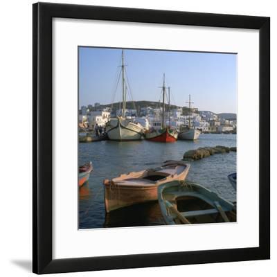 Noussa Harbour in the Evening-CM Dixon-Framed Photographic Print