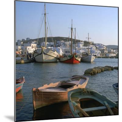 Noussa Harbour in the Evening-CM Dixon-Mounted Photographic Print