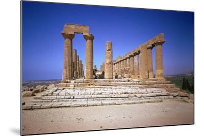 The Doric Temple of Hera at Agrigento, 5th Century Bc-CM Dixon-Mounted Photographic Print