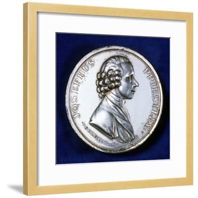 Obverse of Commemorative Medal for Joseph Priestley (1733-180), 1803--Framed Photographic Print