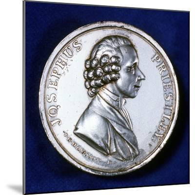 Obverse of Commemorative Medal for Joseph Priestley (1733-180), 1803--Mounted Photographic Print