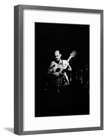 Joe Pass, Ronnie Scotts, Soho, London, 1984-Brian O'Connor-Framed Photographic Print
