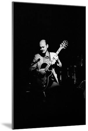 Joe Pass, Ronnie Scotts, Soho, London, 1984-Brian O'Connor-Mounted Photographic Print