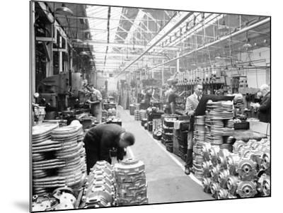 Machine Shop at Ariel Motors, C1950--Mounted Photographic Print