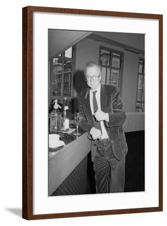 Dennis Potter, Bafta, London, 1990-Brian O'Connor-Framed Photographic Print