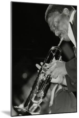 Trumpeter Cat Anderson Performing at the Newport Jazz Festival, Ayresome Park, Middlesbrough, 1978-Denis Williams-Mounted Photographic Print