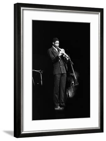 Courtney Pine, Fairfield Halls, Croydon, 1987-Brian O'Connor-Framed Photographic Print