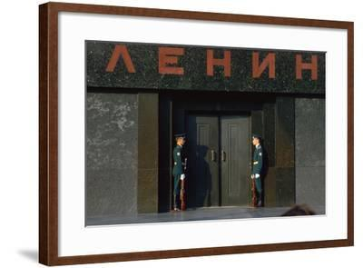Lenins Tomb in Moscows Red Square-CM Dixon-Framed Photographic Print