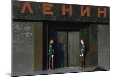 Lenins Tomb in Moscows Red Square-CM Dixon-Mounted Photographic Print