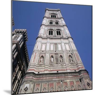 Giottos Tower in Florence Artist: Giotto-Giotto-Mounted Photographic Print
