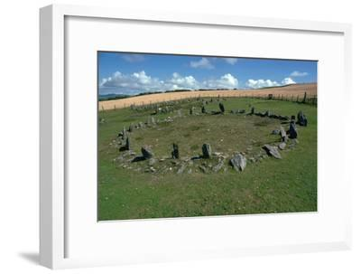 Braiid Settlement Site on the Isle of Man-CM Dixon-Framed Photographic Print
