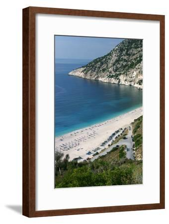 Mirtos Beach, Kefalonia, Greece-Peter Thompson-Framed Photographic Print