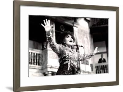 Cleo Laine, the Globe, London, 2000-Brian O'Connor-Framed Photographic Print