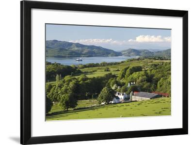 West Loch Tarbert from Kintyre, Argyll and Bute, Scotland-Peter Thompson-Framed Photographic Print