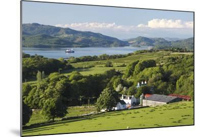 West Loch Tarbert from Kintyre, Argyll and Bute, Scotland-Peter Thompson-Mounted Photographic Print