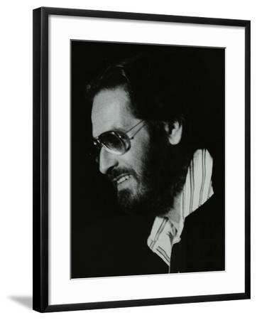 Pianist Bill Evans at the Newport Jazz Festival, Middlesbrough, 1978-Denis Williams-Framed Photographic Print