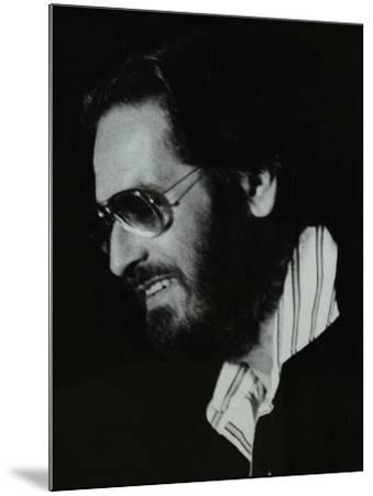 Pianist Bill Evans at the Newport Jazz Festival, Middlesbrough, 1978-Denis Williams-Mounted Photographic Print