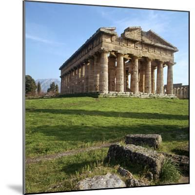 The So-Called Temple of Neptune at Paestum, 5th Century Bc-CM Dixon-Mounted Photographic Print