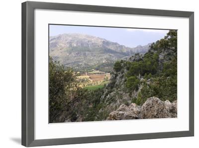 Mountain Scenery Near Lluc, Mallorca-Peter Thompson-Framed Photographic Print