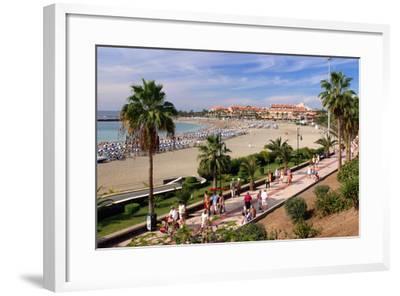 Playa De Las Vistas, Los Cristianos, Tenerife, Canary Islands, 2007-Peter Thompson-Framed Photographic Print
