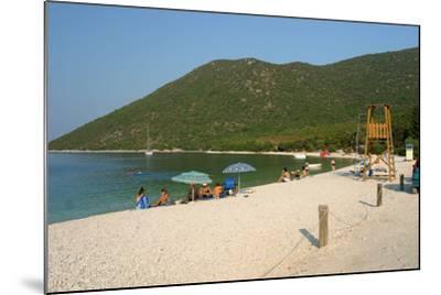 Antisamos (Captain Corellis Beach), Kefalonia, Greece-Peter Thompson-Mounted Photographic Print